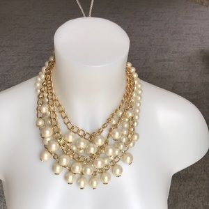 Kate Spade Purely Pearly Statement Necklace